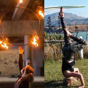 Foot Hooping + Hoop Balance Workshops | Ryn Hooligan