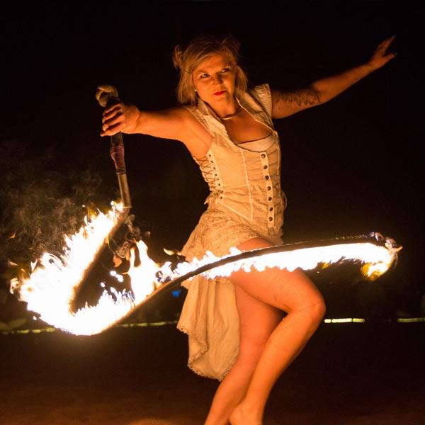 Fire Performer Melbourne | Ryn Hooligan